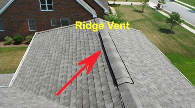 Ridge Vent Installation
