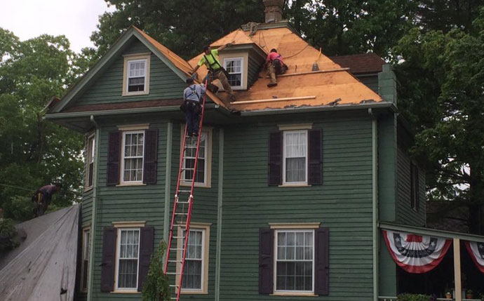 Exterior Home Improvement Roof Replacement