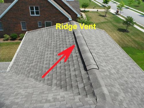 Install Ridge Vent