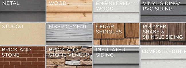 Types of Siding