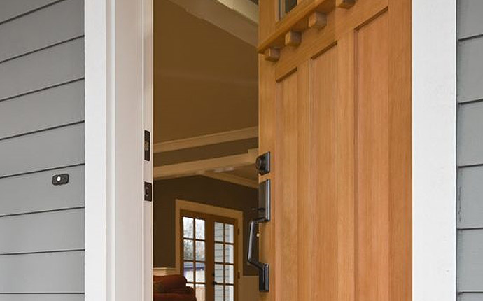 Wood Door Installation