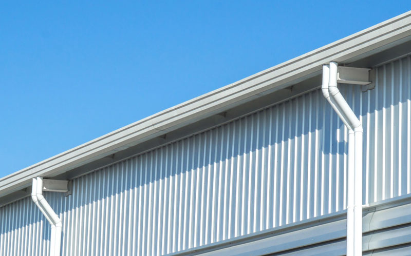 Commercial Box Style Gutters