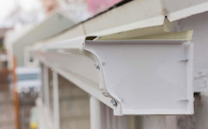 Commercial K Style Gutters