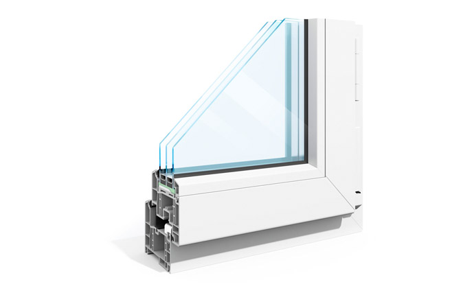 Commercial Vinyl Frame Windows