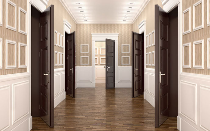 Commercial Door Wood