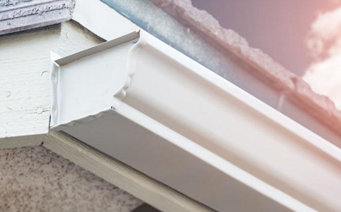 Standard K Style Aluminum Gutter Replacement