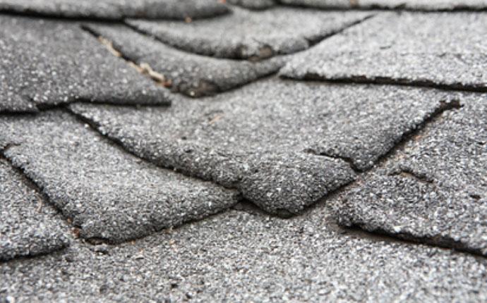 Cracked Roof Shingle Repair
