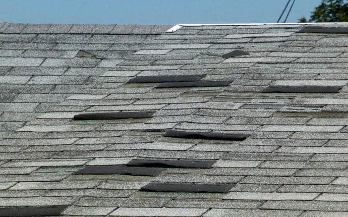 Torn or Missing Roof Shingle Repair