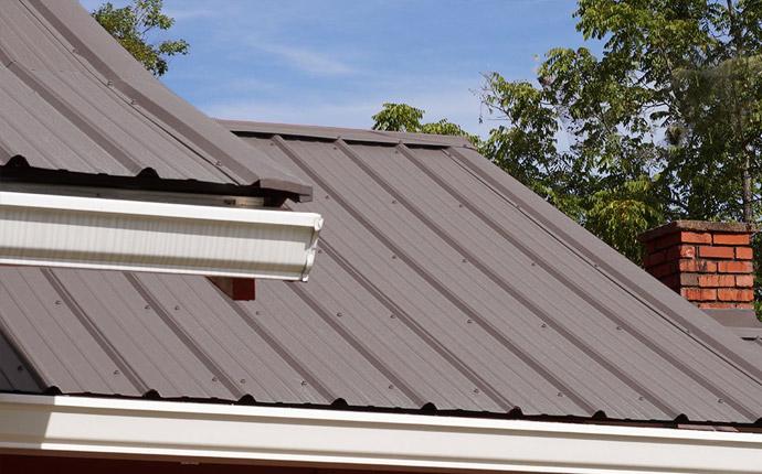 Aluminum Metal Roof Replacement