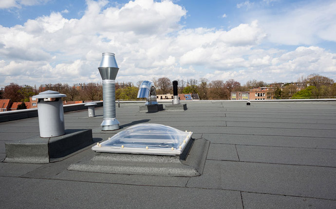 EPDM Rubber Flat Roof Replacement