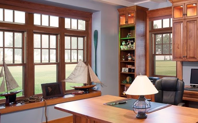 Energy Efficient Wood Replacement Windows