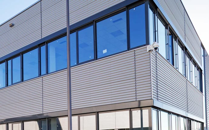 Commercial Property Siding Replacement