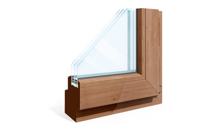 Commercial Wood Frame Windows