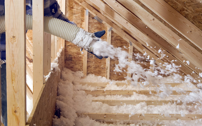 Residential Blow-In Insulation Installers