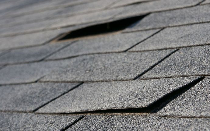 Roof Inspection Services - Buckling Shingles