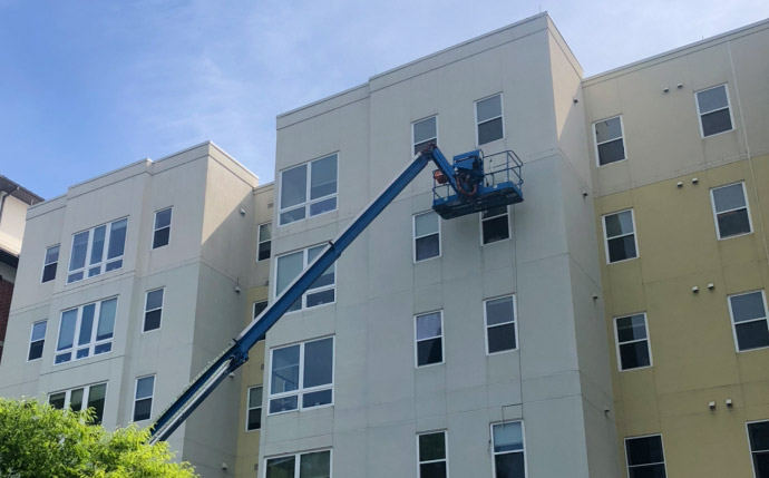 Emmons Commercial Caulking and Waterproofing Inspection