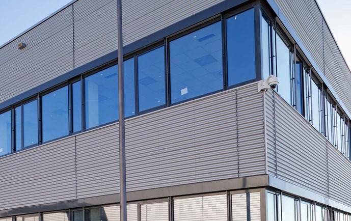 Commercial Siding Replacement