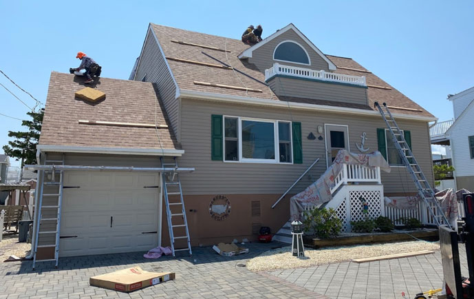 Residential Storm Damage Roof Repair