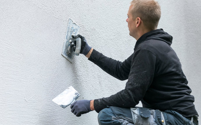 Commercial Building Stucco Remediation